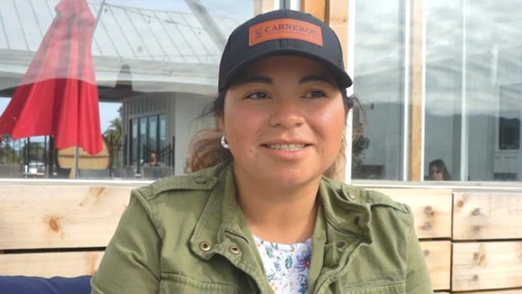 Betty Diaz, Anaba Farm Worker